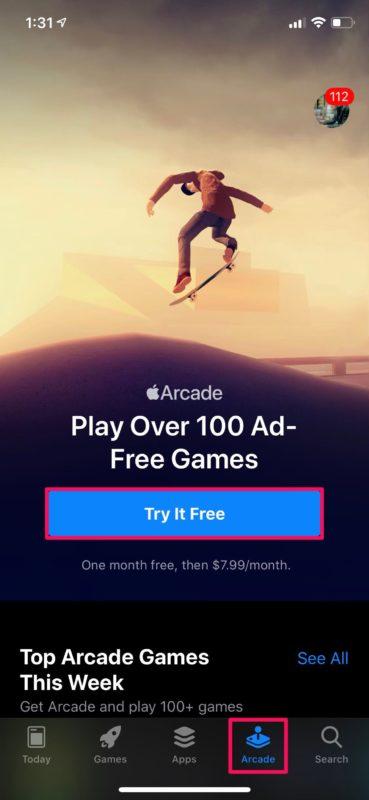 Comment jouer aux jeux Apple Arcade sur iPhone et iPad