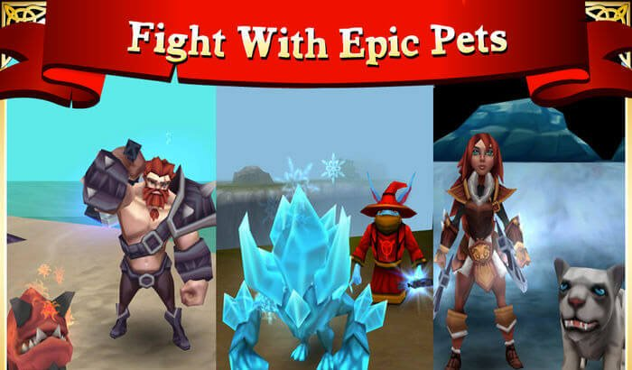 Arcane Legends Role Playing Capture d'écran de jeux iPhone et iPad