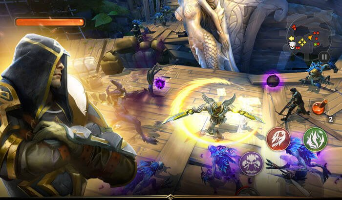 Dungeon Hunter 5 Jeu de rôle sur iPhone et iPad Capture d'écran