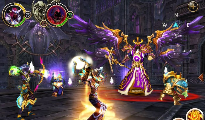 Order & Chaos Role Playing Capture d'écran de jeux iPhone et iPad