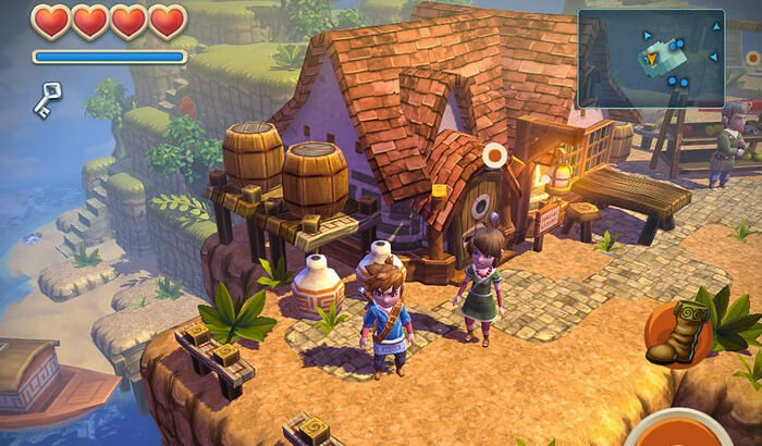 Oceanhorn Role Playing Capture d'écran du jeu iPhone et iPad
