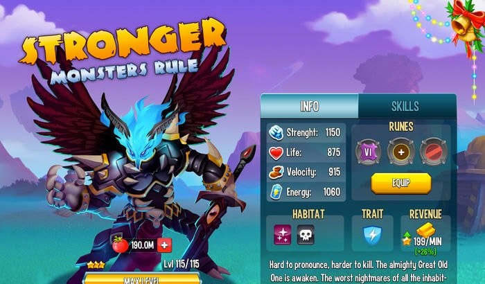 Monster Legends RPG Role Playing Capture d'écran de jeux iPhone et iPad