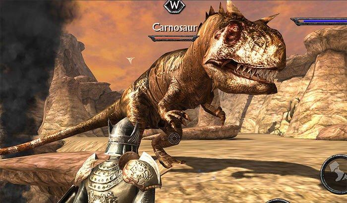 Ravensword - Jeu de rôle Shadowlands Capture d'écran du jeu iPhone et iPad