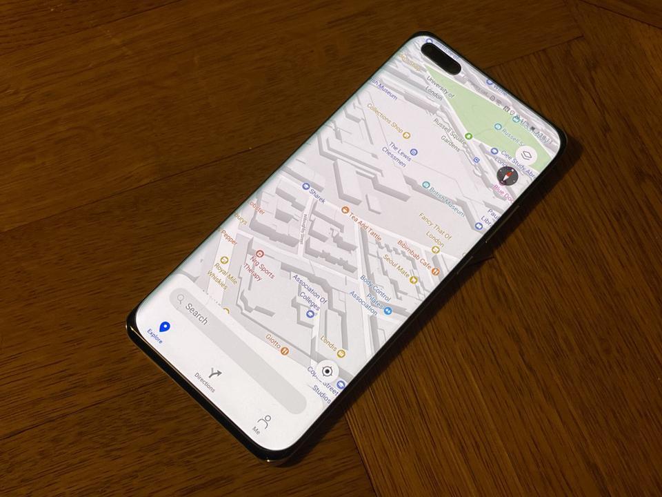 Petal Maps sur les téléphones Huawei pourrait vous faire oublier Google Maps.