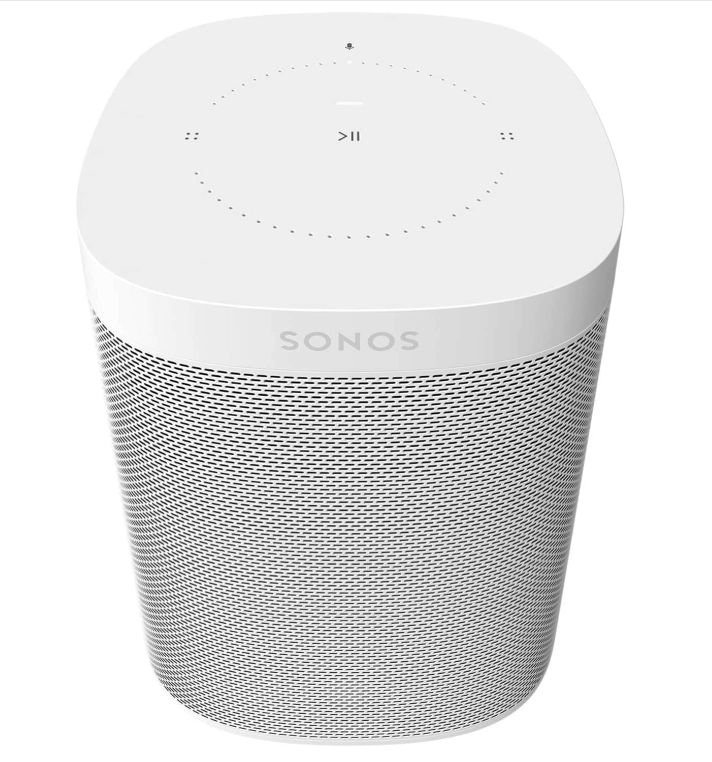 Sonos One (Gen 2) - Haut-parleur intelligent à commande vocale