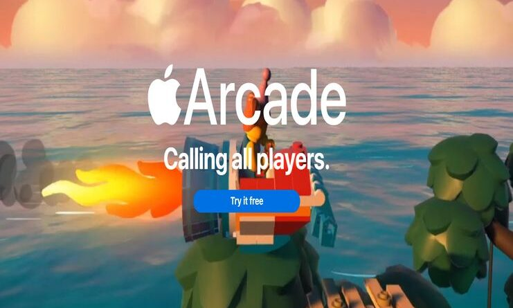 Apple Arcade official website snippet