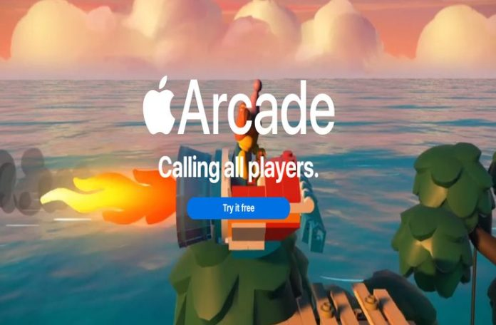 Extrait du site Web officiel d'Apple Arcade