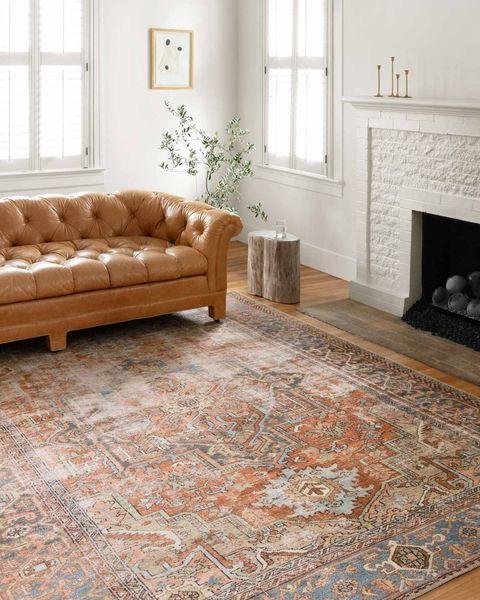 tapis dans le salon