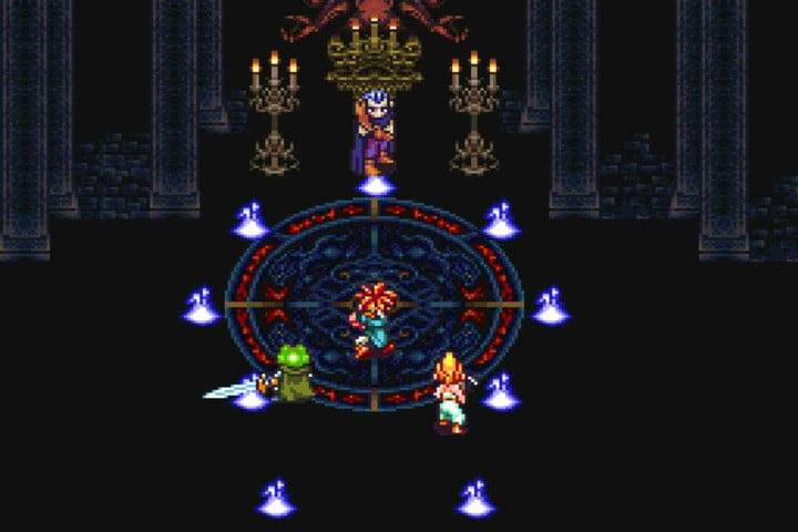 Déclencheur SNES Classic Chrono