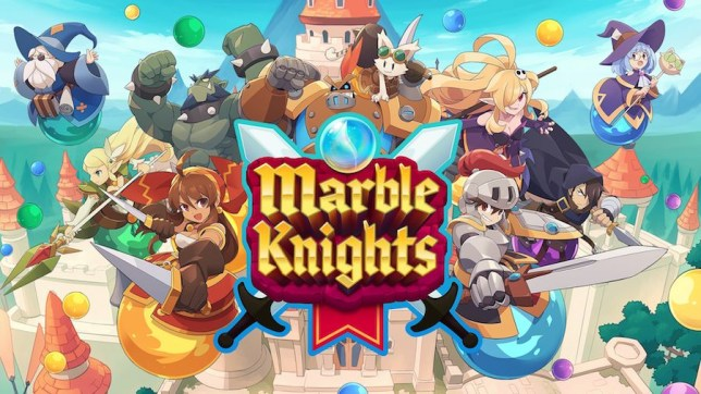 Art clé Marble Knights