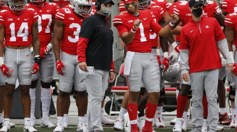 Ohio State passe au n ° 3 après le week-end d'ouverture de Big Ten