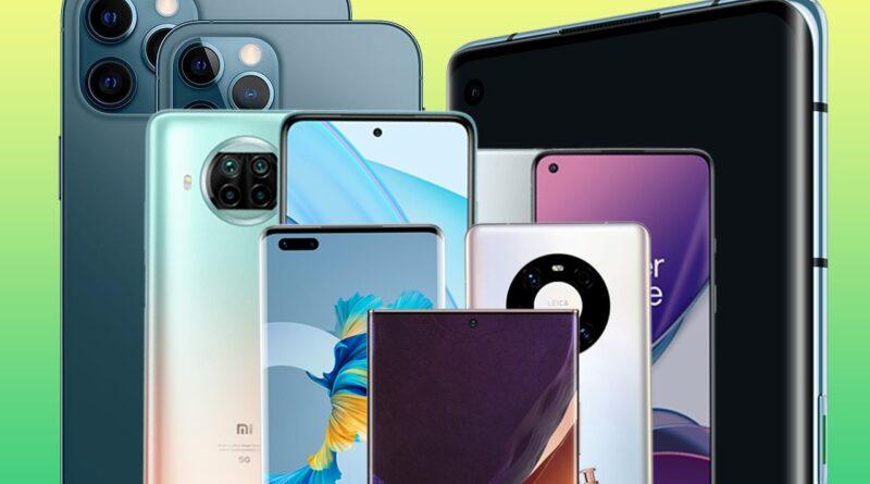 Smartphone 5G: critiques des meilleurs smartphones 5G