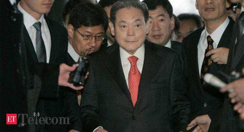 Lee Kun-hee de Samsung laisse 21 milliards de dollars de richesse pour l'héritage, Telecom News, ET Telecom