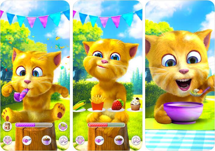 Talking Ginger 2 Capture d'écran de l'application Virtual Pet pour iPhone et iPad