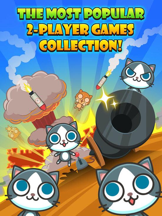 Cats Carnival 4.5 / 186 est l'un des 10 meilleurs jeux à 2 joueurs pour iOS.