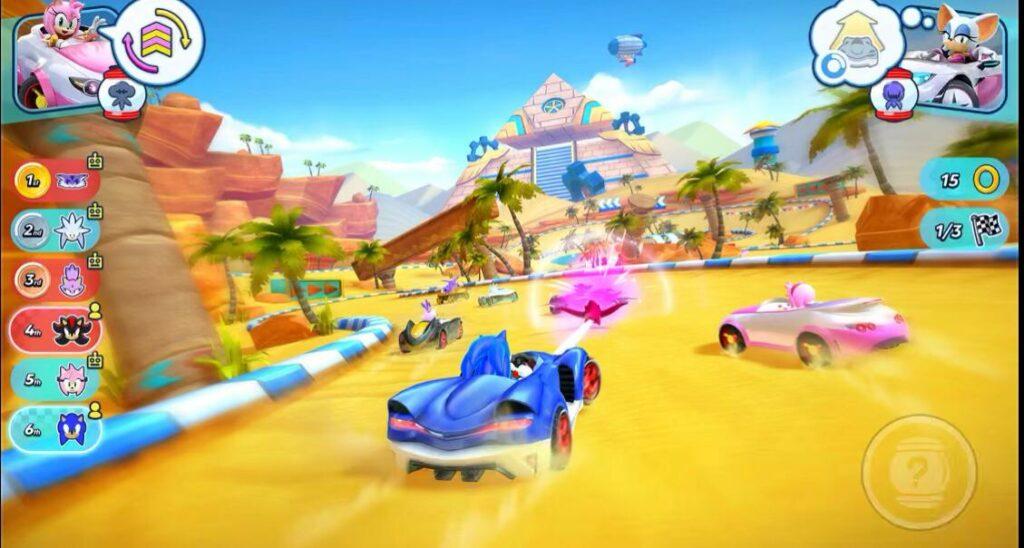 Course Sonic (jeux Apple Arcade)
