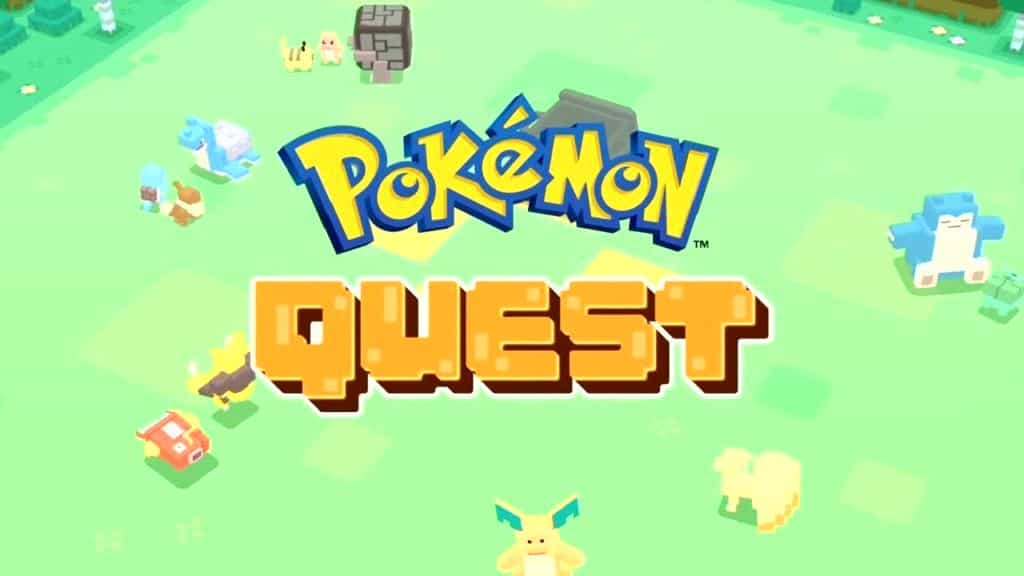 Jeu mobile Pokémon Quest