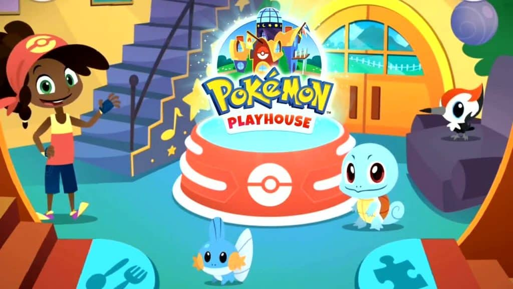 Jeu mobile Pokémon Playhouse