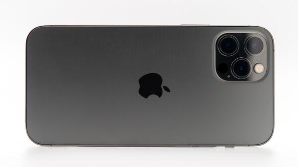 Triple caméras arrière pour iPhone 12 Pro.