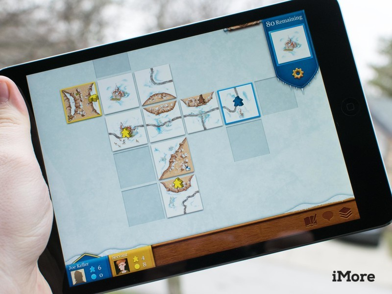 Carcassone sur iPad mini