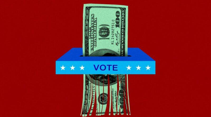 La folie de simplement jeter de l'argent sur des candidats politiques