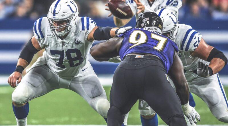 Les Colts d'Indianapolis accueillent les Ravens de Baltimore dimanche lors de leur match de la semaine 9 2020 au Lucas Oil Stadium