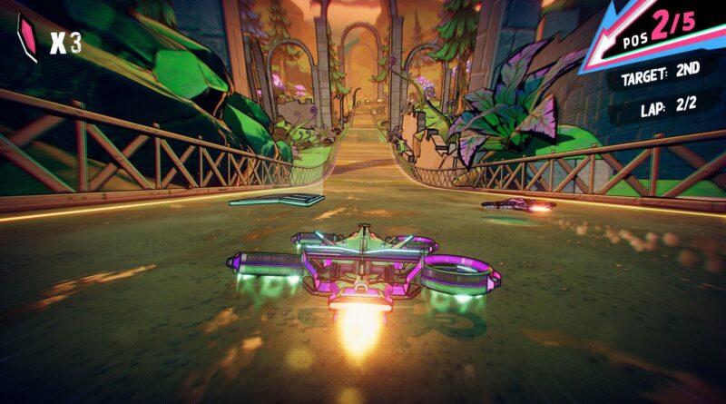Le jeu de course rapide 'Warp Drive' avec fonction de téléportation maintenant disponible sur Apple Arcade