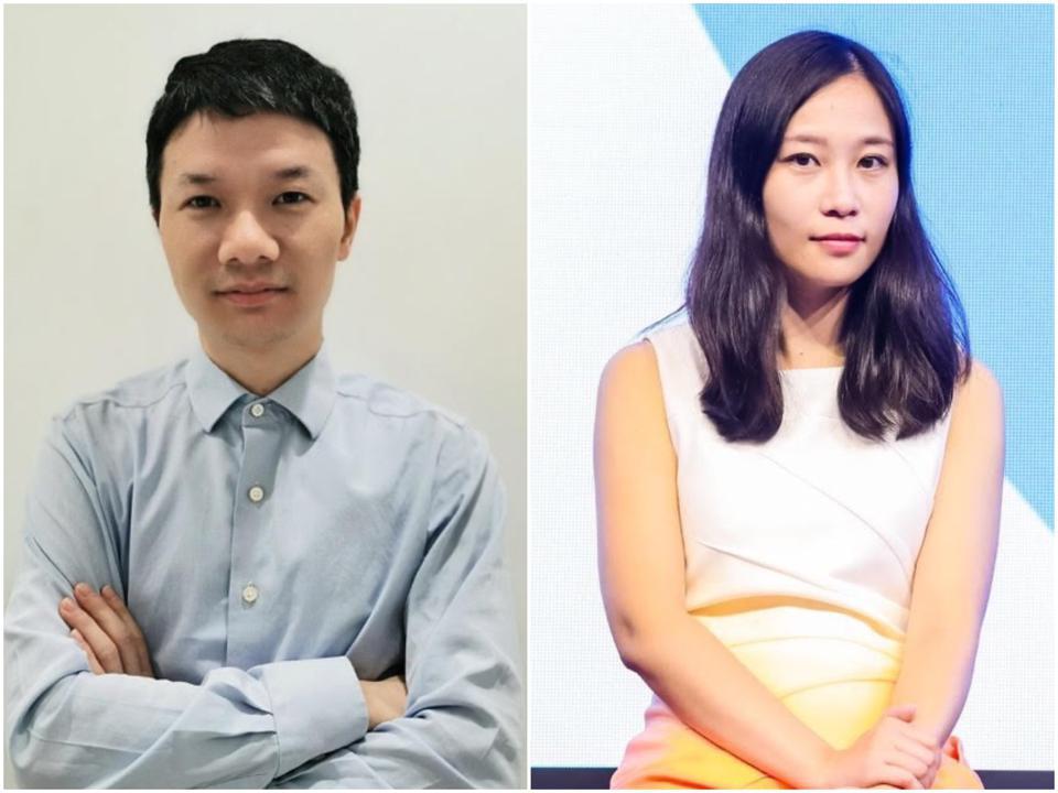 Forrest Liu (à gauche) et Wenyi Jin (à droite).
