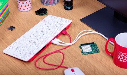 Micro-ordinateur personnel Raspberry Pi 400