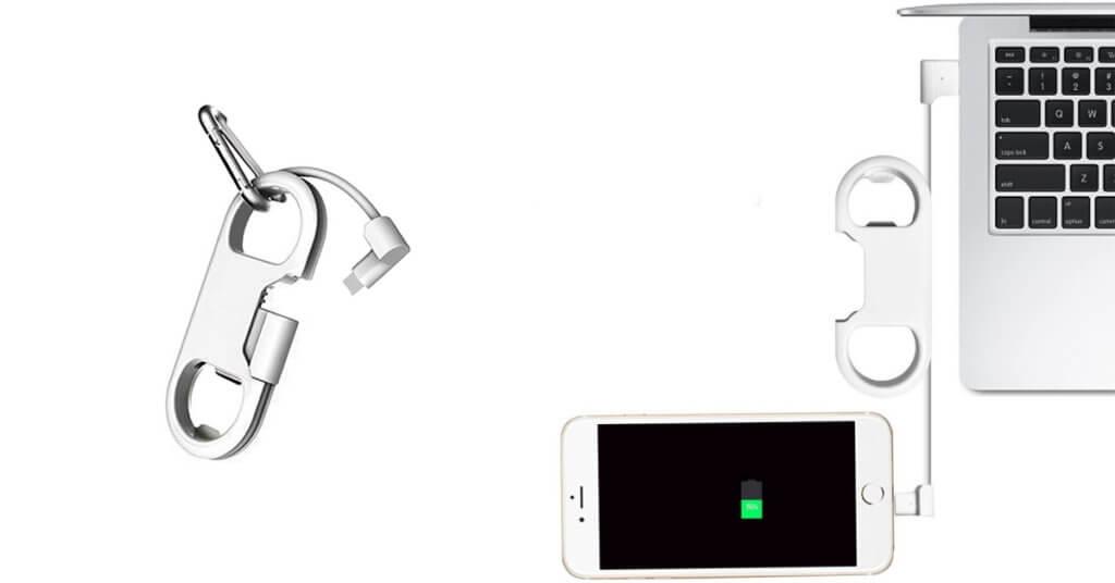 câble de chargeur iphone porte-clés éclair