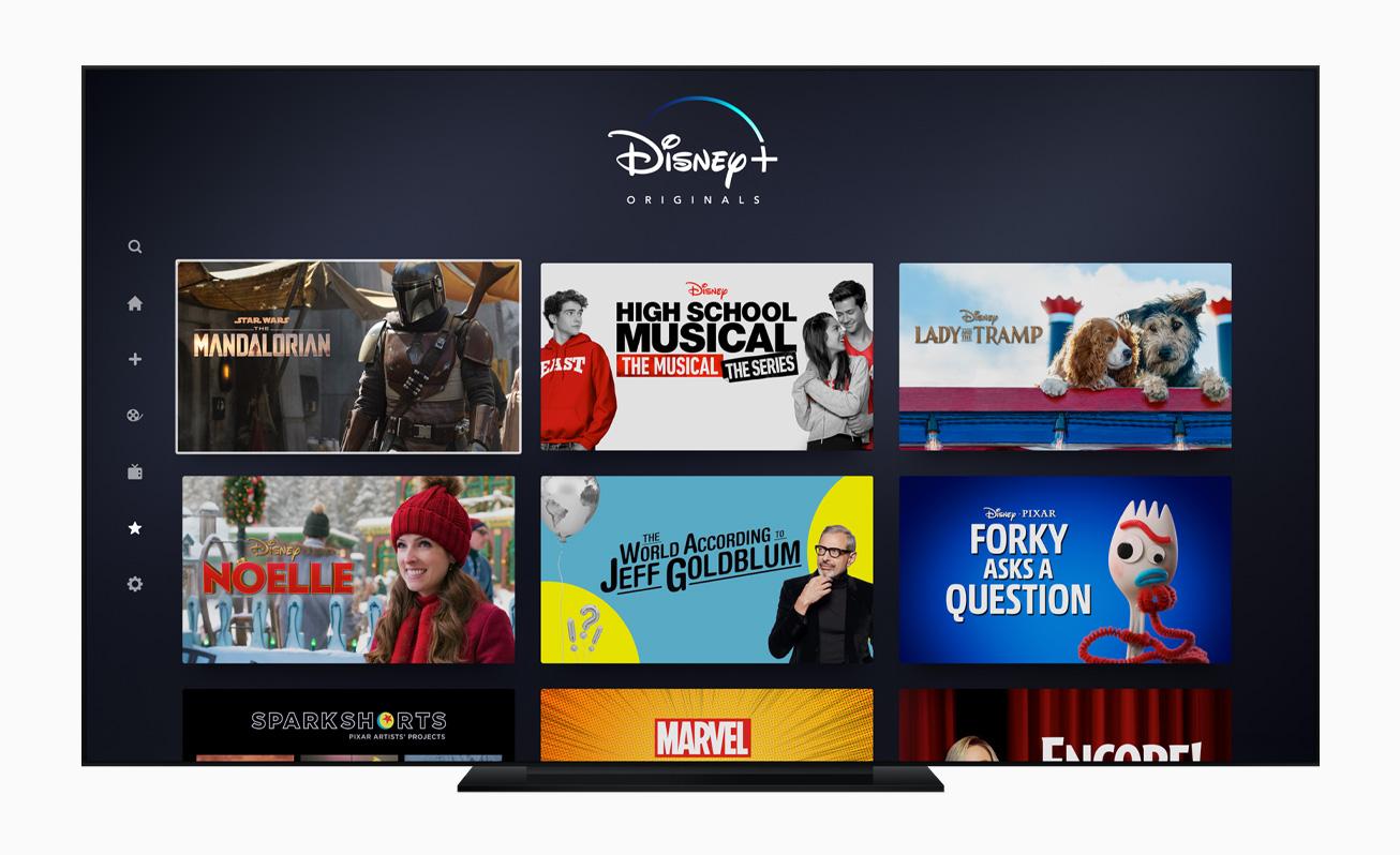 Apple TV Disney +