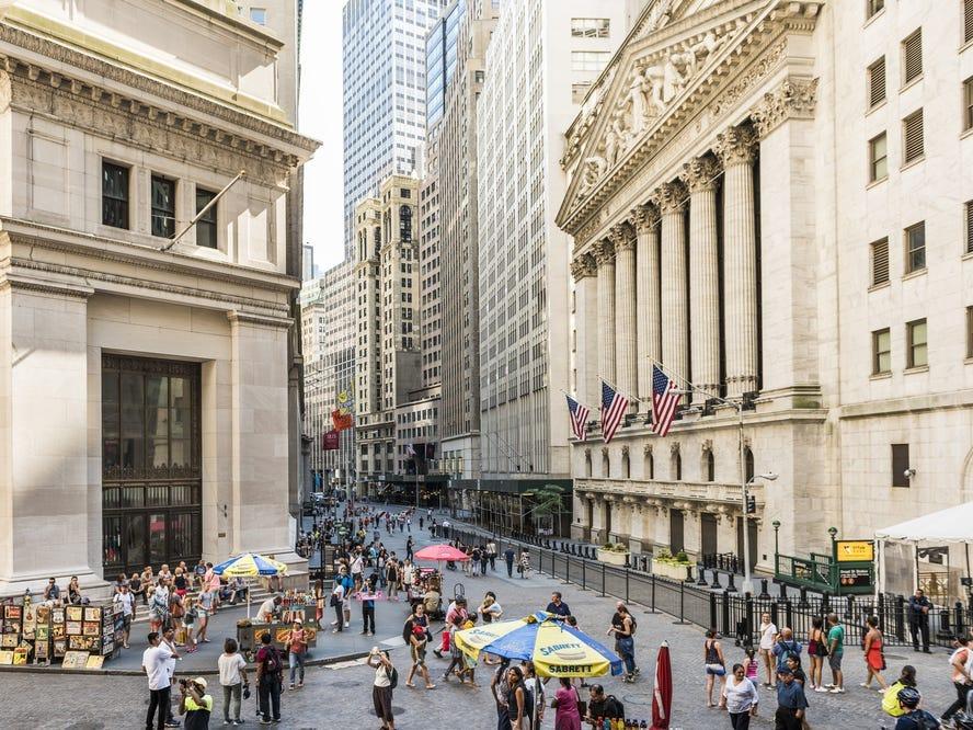 Wall Street, État de New York