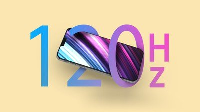fonction de vignette iphone 12 120hz