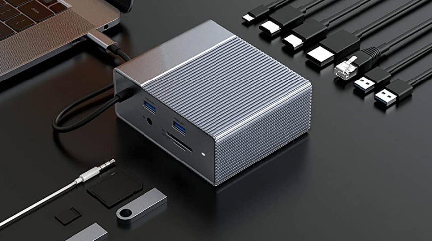 Hub USB-C HyperDrive 12 en 1