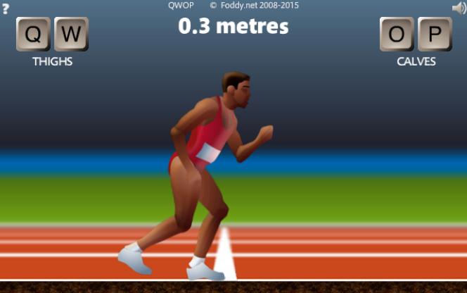 Si vous arrivez à courir un 100 mètres dans« QWOP», merci de prévenir la rédaction de Pixels.