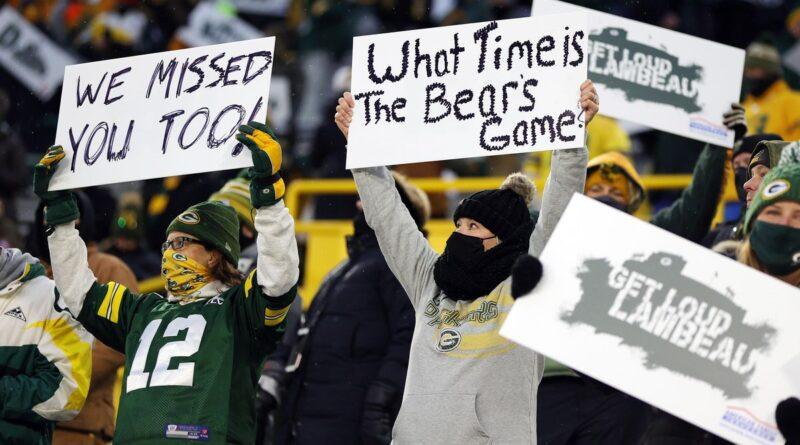 Les Packers de Green Bay ont reçu une énorme augmentation de leurs fans lors d'une victoire contre les béliers en séries éliminatoires