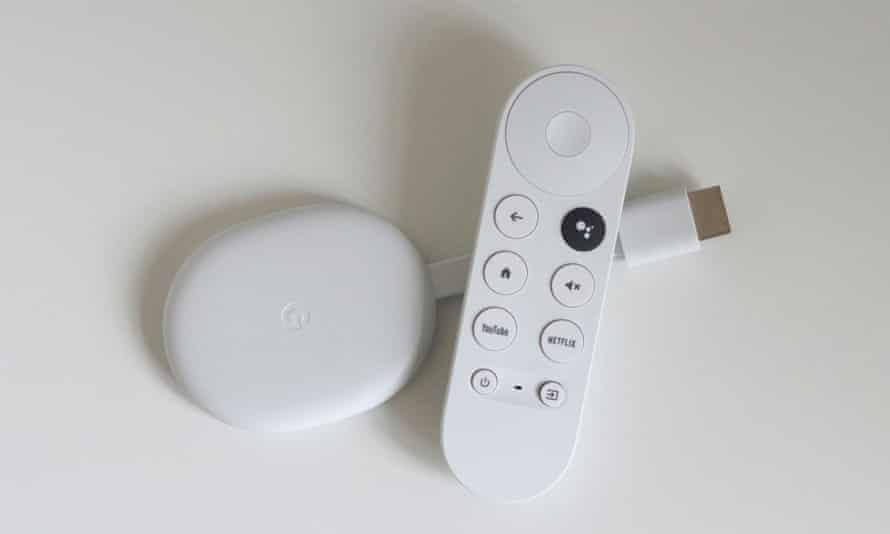 Chromecast avec examen de Google TV
