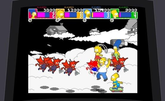 Le jeu Simpsons Konami PS3