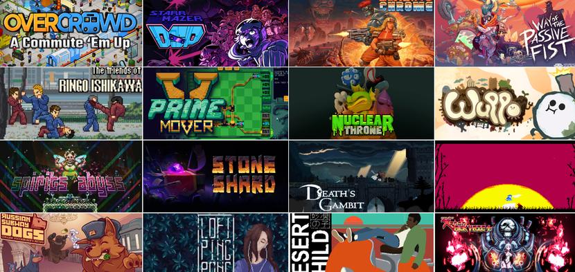 Un échantillon des jeux réalisés avec GameMaker Studio