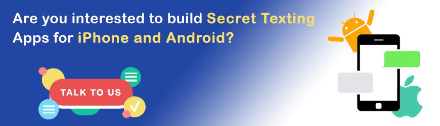 Vous voulez créer une application de SMS secrète?