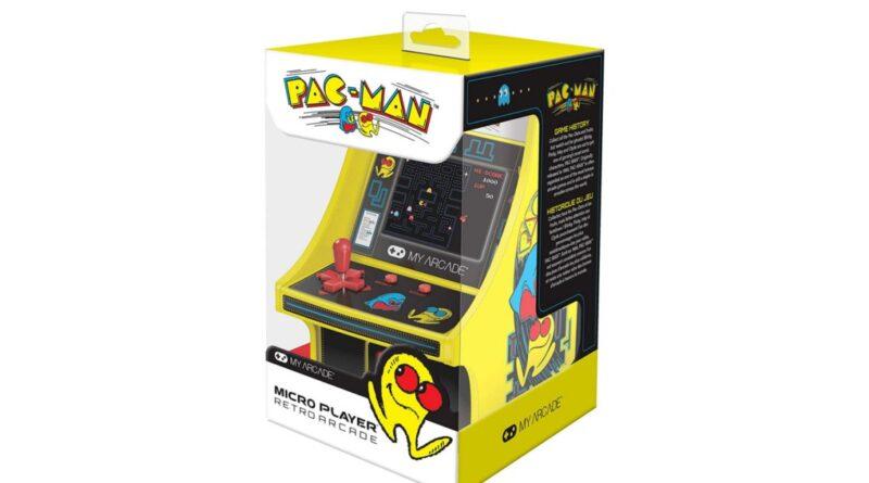 Offrez en cadeau la mini armoire PAC-MAN de My Arcade à partir de 19 $ (rég. Jusqu'à 35 $)
