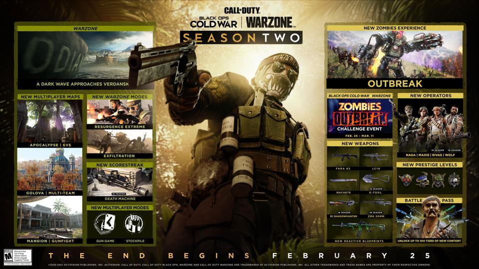 Call Of Duty Saison 2