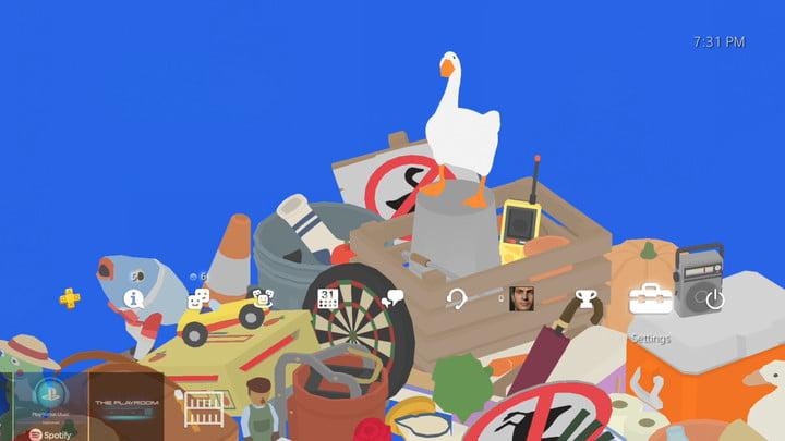 Thème PS4 du jeu Goose sans titre