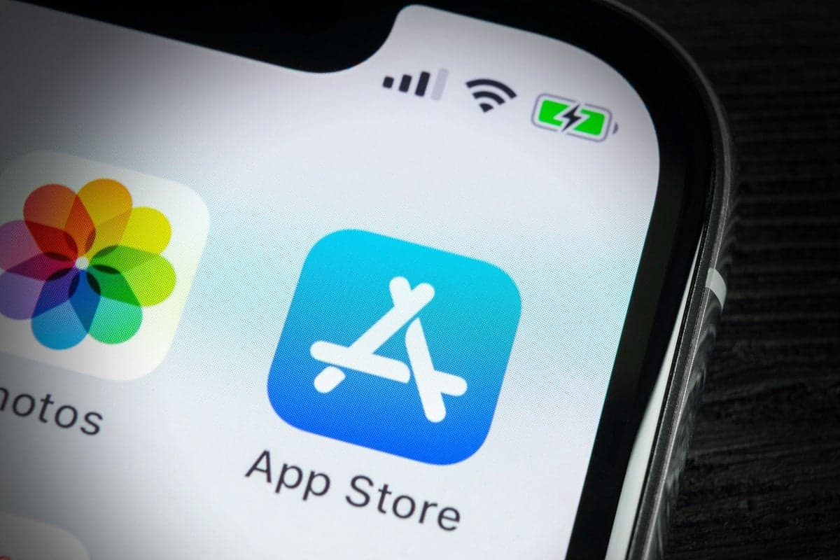 Magasin d'applications iOS 14