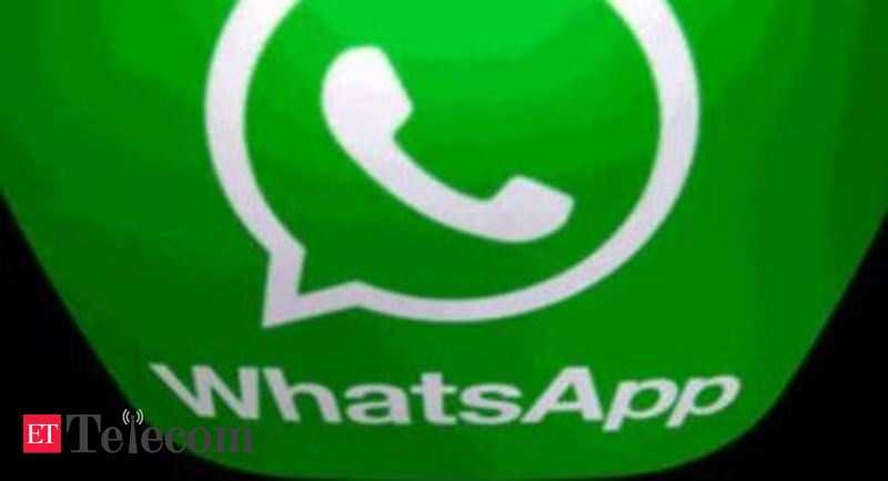 Le centre a plus de temps pour déposer un rapport dans l'affaire de confidentialité WhatsApp, Telecom News, ET Telecom