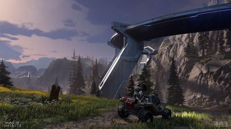 Halo Infinite: nouvelles images PC, cycle jour/nuit et détails sur le Halo Zeta! | Xbox One