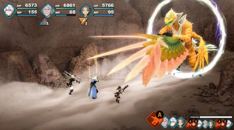 Fantasian Apple Arcade Screenshot