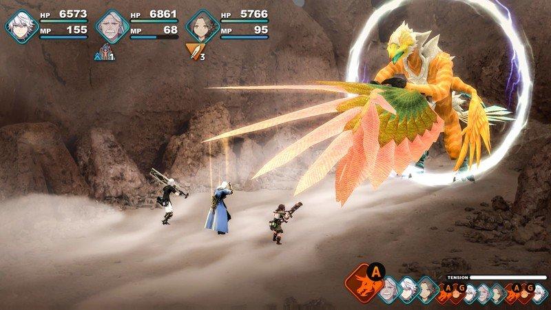 Capture d'écran Fantasian Apple Arcade