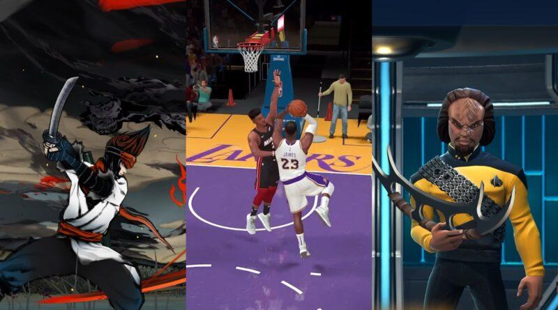 Les nouveaux jeux Star Trek et NBA mènent une expansion majeure d'Apple Arcade
