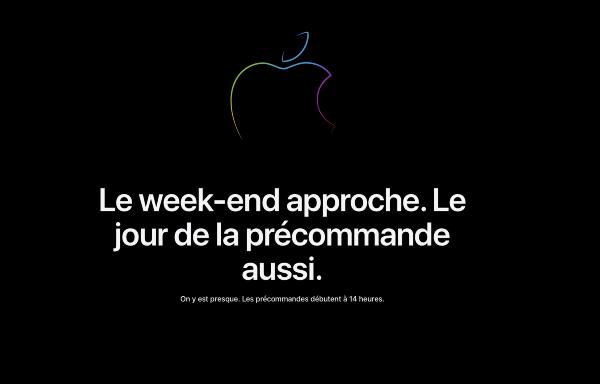 l'Apple Store est fermé (ouverture à 14h)